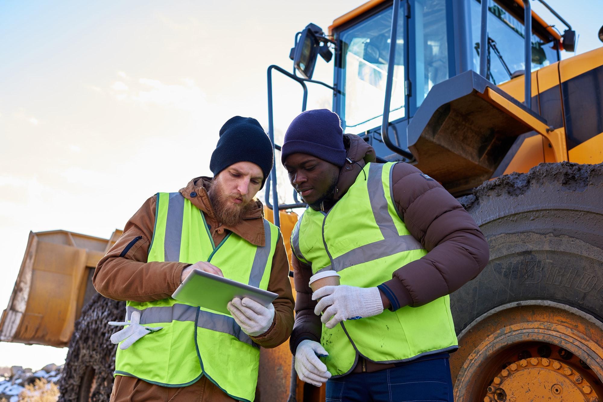 Mining Crew on Site